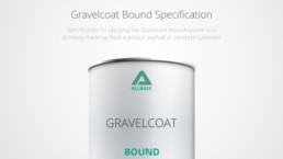 Gravelcoat resin bound spec for suds compliant driveways