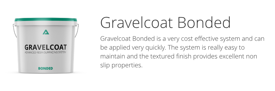 Gravelcoat resin bonded surfacing system