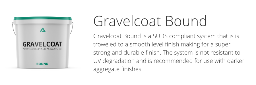 Gravelcoat resin bound surfacing system