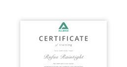Allbase training courses