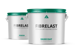 Fibrelast GRP roofing cans